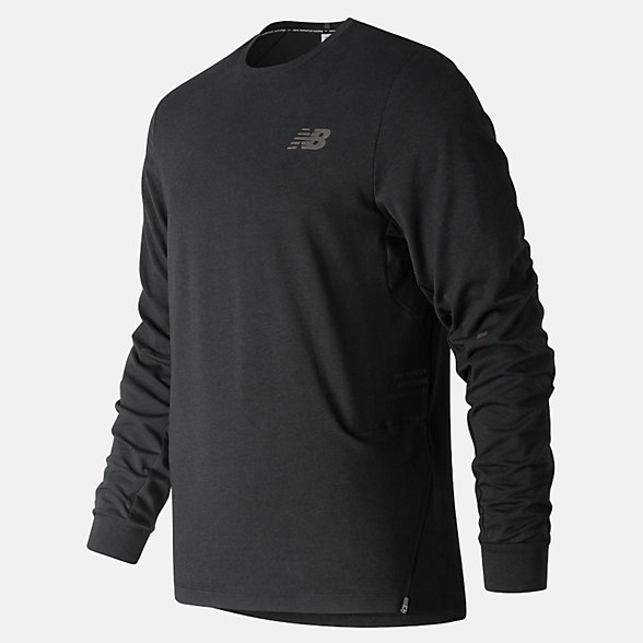 New Balance Q Speed Softwear Crew, MT91252BK