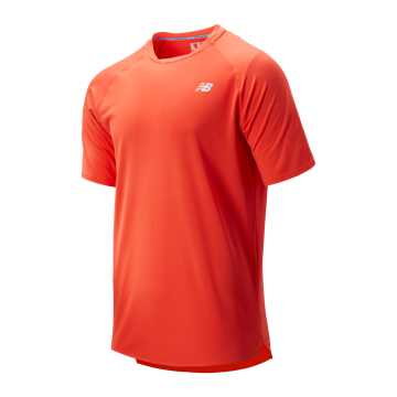 New Balance Tournament Movement Top, Coral Glow
