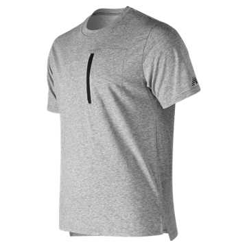 New Balance Sport Style Pocket Tee, Athletic Grey