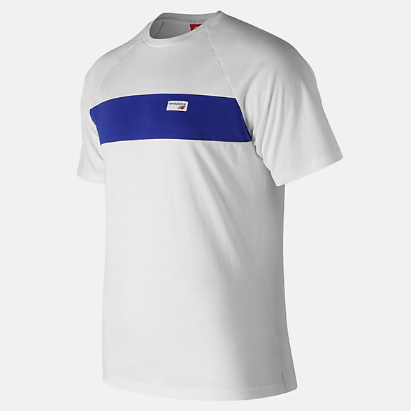 NB NB Athletics Raglan Tee, MT91510WT