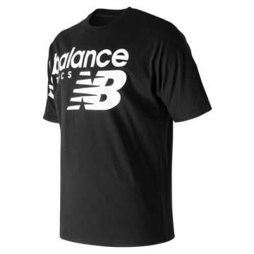New Balance NB Athletics Crossover Tee, Black