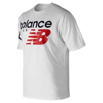 New Balance NB Athletics Crossover Tee, White
