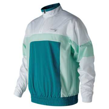 New Balance NB Athletics Windbreaker Pullover, Dark Neptune