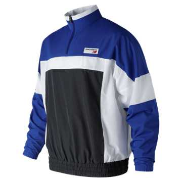 New Balance NB Athletics Windbreaker Pullover, Team Royal