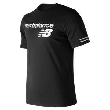 New Balance NB Athletics Heritage Tee, Black