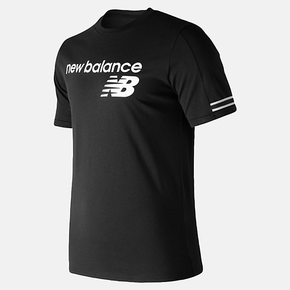 NB NB Athletics Heritage Tee, MT91531BK