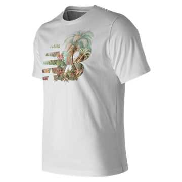 New Balance Dark Jungle Tee, White