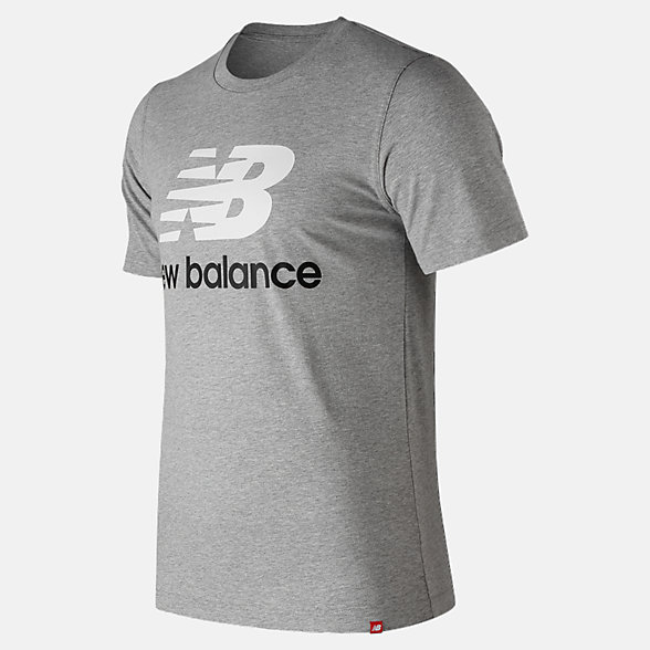 New Balance Essentials Stacked Logo Tee, MT91546AG