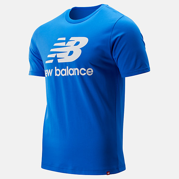 New Balance Essentials Stacked Logo Tee, MT91546VCT