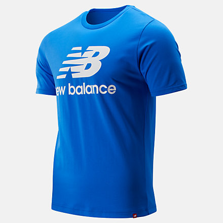 New Balance Essentials Stacked Logo Tee, MT91546VCT image number null
