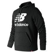 26f85000153f3 New Balance Essentials Stacked Logo Po Hoodie, Black