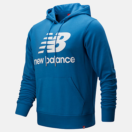 New Balance Chandail à capuche à logo superposé Po Essentials, MT91547MAK image number null