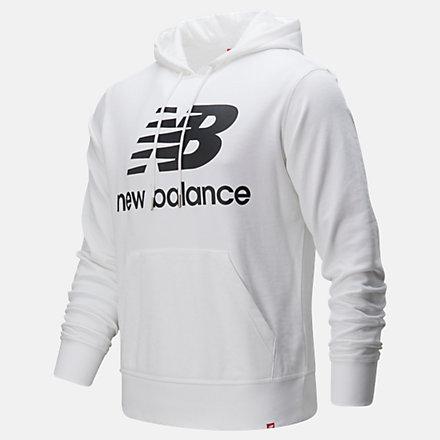 New Balance Chandail à capuche à logo superposé Po Essentials, MT91547WK image number null