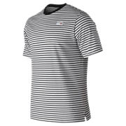 NB NB Athletics Stripe Tee, Black