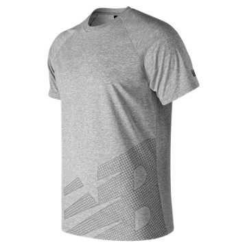 New Balance Sport Style Tech Tee, Athletic Grey