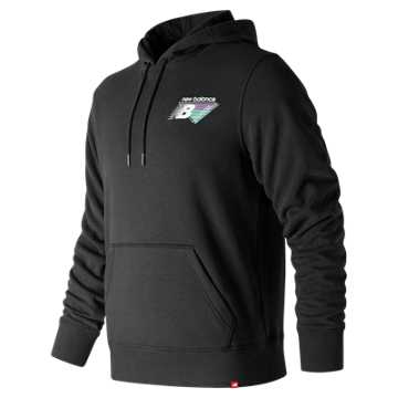 New Balance Essentials 90s Hoodie, Black