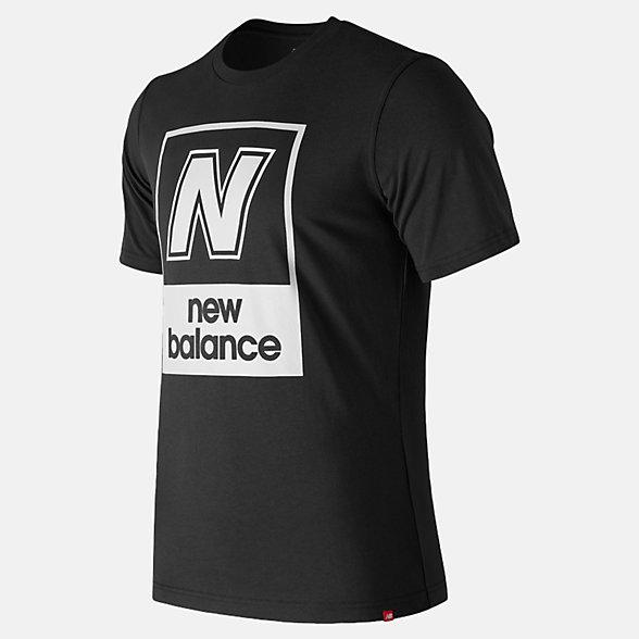 NB Essentials N Box T-Shirt, MT91583BK