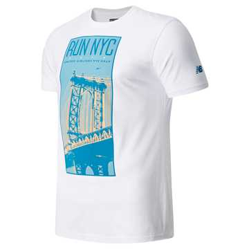 New Balance United Airlines Half Manhattan Bridge, White