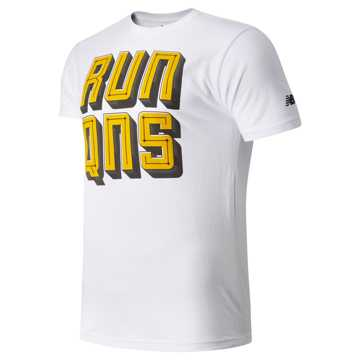 New Balance Run Queens Tee, White