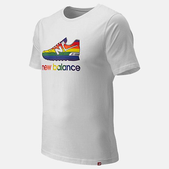 NB Essentials Pride Shoe T-Shirt, MT91675WT