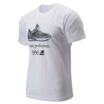New Balance 990 Perfection Tee, White
