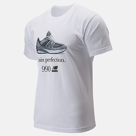 New Balance 990 Perfection Tee, MT91690WT image number null