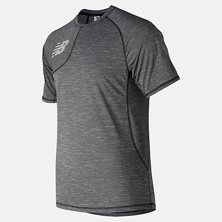 New Balance Tenacity Asym Tee, MT91711TBK image number null