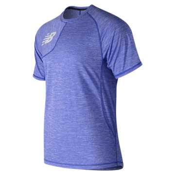 New Balance Tenacity Asym Tee, Team Royal
