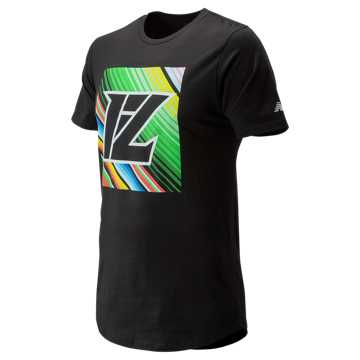 New Balance Lindor Graphic Tee, Black