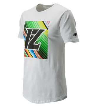 New Balance Lindor Graphic Tee, White