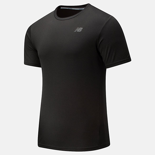 New Balance Revitalize Cool Tee, MT91920BK