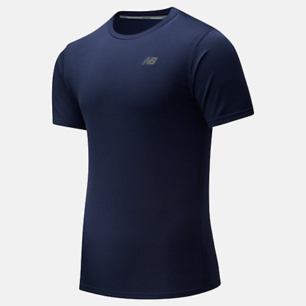 New Balance Revitalize Cool Tee, MT91920PGM image number null