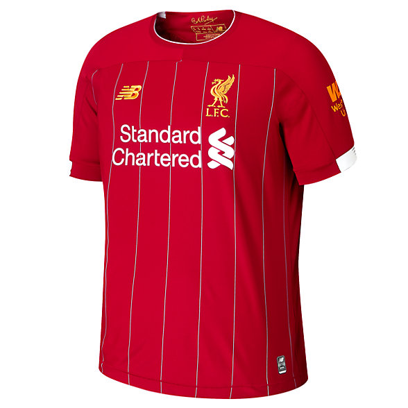 New Balance Liverpool FC Home SS Jersey No EPL Patch, MT930000HME