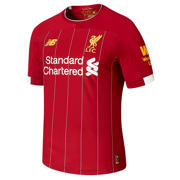 New Balance Liverpool FC Home Elite SS Jersey, Red Pepper with White & Gold