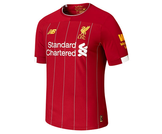 4b133f134 Men s Liverpool FC Home Elite Short Sleeves Jersey MT930001 - New ...