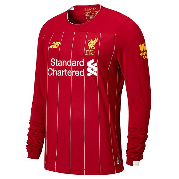 New Balance Maillot ML Liverpool FC domicile aucune pièce EPL, MT930005HME