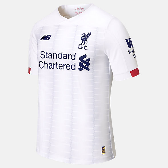 NB Liverpool FC Away Elite Short Sleeve Jersey, MT930010AWY