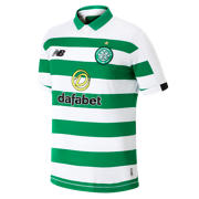 New Balance Maillot MC Celtic FC domicile, Green with White & Black