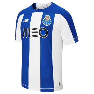 New Balance FC Porto Home SS Jersey, Team Royal with White