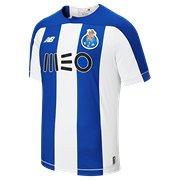 8a90a7e8dbaee New Balance FC Porto Home SS Jersey, Team Royal with White
