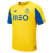 NB FC Porto Away SS Jersey, Yellow with Lapis Blue