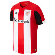 NB Athletic Club Home SS Jersey, Red with Black & White