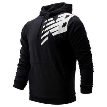 198f9ec98632e New Balance Tenacity Fleece Pullover Hoodie, Black