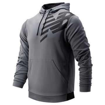 New Balance Tenacity Fleece Pullover Hoodie, Gunmetal