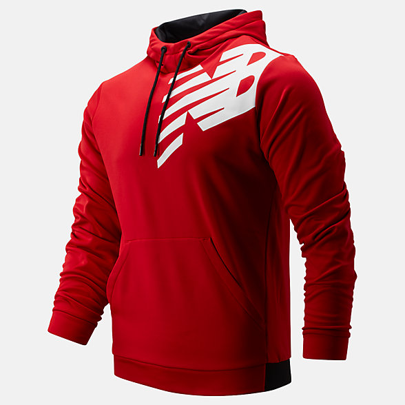 New Balance Tenacity Fleece Pullover Hoodie, MT93021REP