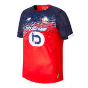 NB Lille OSC Home SS Jersey, Navy with Red & White