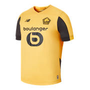 NB Lille OSC Away SS Jersey, Black with Yellow