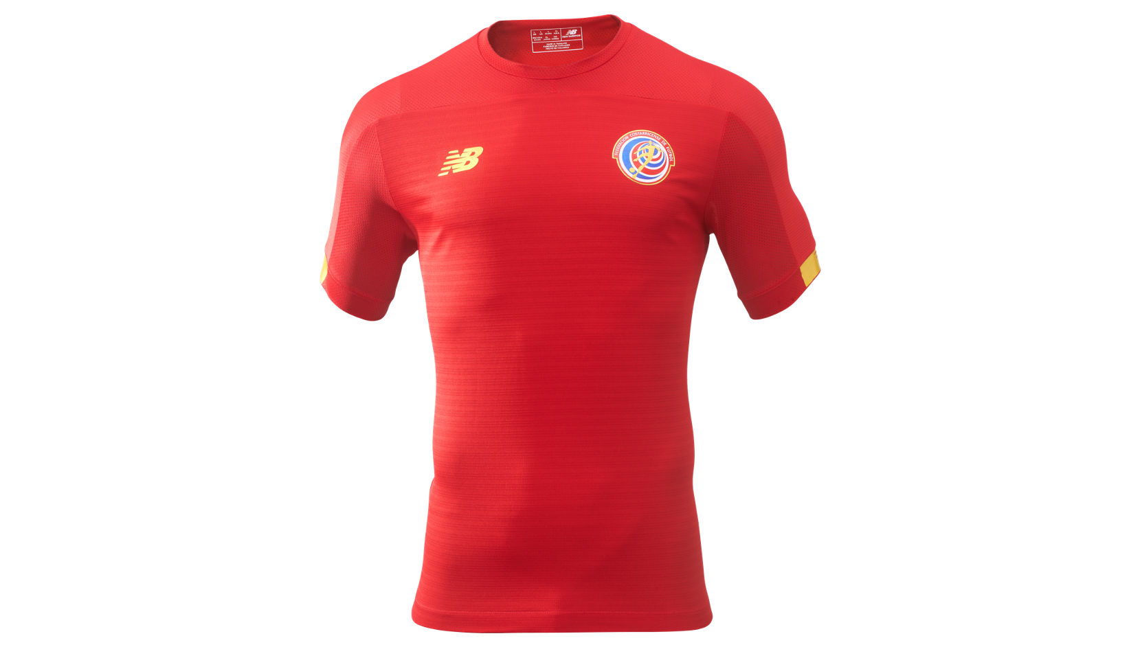 New Balance Costa Rica Home SS Jersey, Black with White