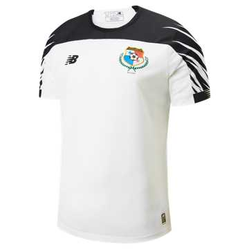New Balance Panama Away SS Jersey, Black with White