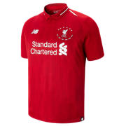 NB LFC 6 Times 18/19 Home SS Jersey, Red Pepper with White
